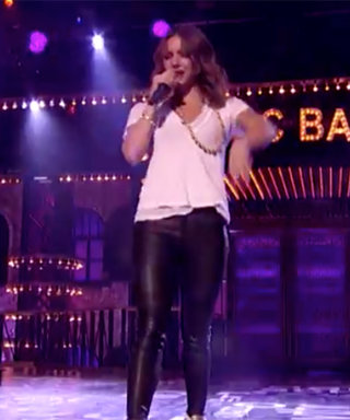 "Watch Katharine McPhee ""Show Us What She's Working with"" on Lip Sync Battle"