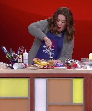 Melissa McCarthy Hilariously Competes Against Her Husband to Prepare a TastyDish for Stephen Colbert