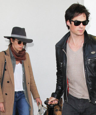 Nikki Reed and Ian Somerhalder Take Couple Style to the Next Level at LAX Airport