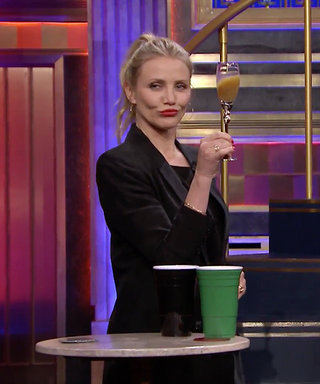 Watch Cameron Diaz Chug a Kale Smoothie and Salsa VerdeCocktail in ThisTonight Show Game