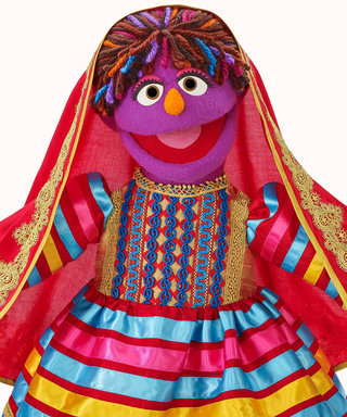 Sesame Street Introduces a New Afghan Muppet—See Her Sweet Meeting with Diane von Furstenberg
