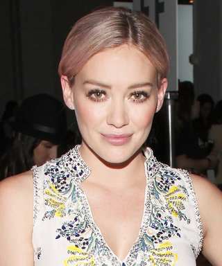 Hilary Duff Posts Epic Throwback Photo from Her Days as a Child Model