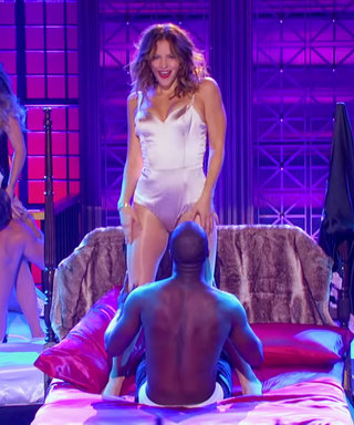 """Watch Katharine McPhee Perform Jason Derulo's """"Want to Want Me"""" in Front of Him on Lip Sync Battle"""