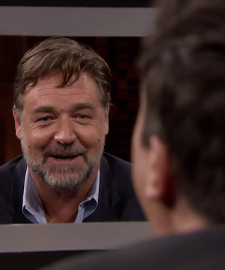 Watch Russell Crowe and Jimmy Fallon Call Each Other's Bluff in the Latest Box of Lies