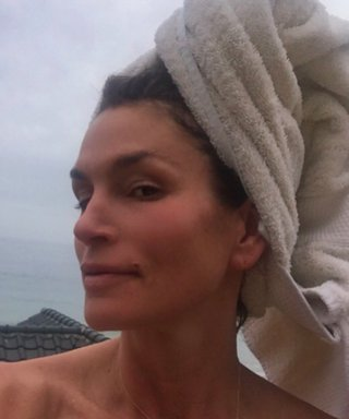 Cindy Crawford Looks Flawless in Post-Workout Selfie
