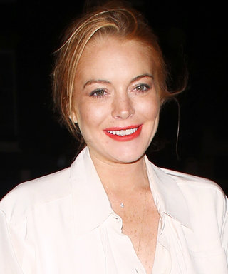 Lindsay Lohan Gives Off Major Parent Trap Vibes in a Chanel Tweed Jacket