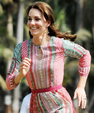 Kate Middleton Expertly Fields Question About How She Maintains Her Figure