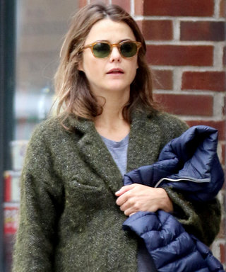 Pregnant Keri Russell Steps Out in a Cool and Casual Maternity Look