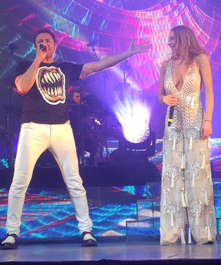Duran Duran Brings Lindsay Lohan Onstage, Pays Tribute to David Bowie in Concert