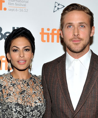 Eva Mendes Reacts to Ryan Gosling's Emotional Golden Globes Speech