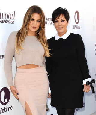 Kris Jenner Posts the Most Adorable Throwback Photo of Khloé Kardashian