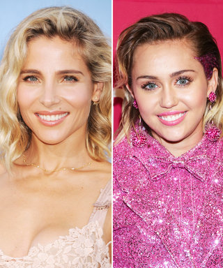 Miley Cyrus and Elsa Pataky Have a Girls' Lunch in Los Angeles