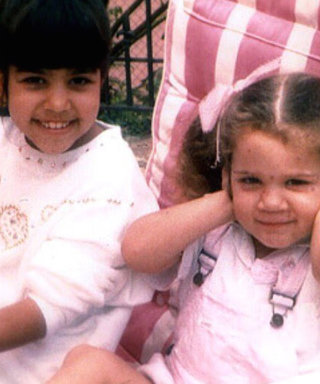 See the Cute Throwback Snaps the Kardashians Shared for Kourtney's Birthday