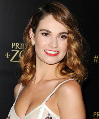 Lily James Just Scored a Beautiful New Gig