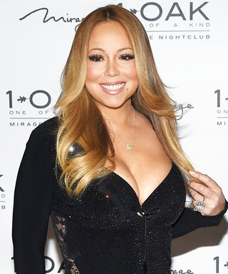 Mariah Carey Spices Things Up in the Kitchen Wearing Racy Lingerie