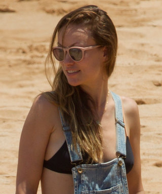 Olivia Wilde Shows Off Her Baby Bump in a Bikini in Hawaii