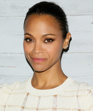 Zoë Saldana's Twins Pay Her an Adorable Visit on the Set of Guardians of the Galaxy Vol. 2