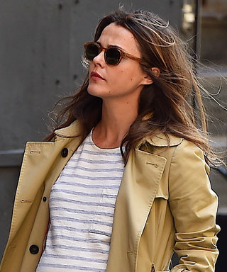 Keri Russell Channels Parisian Chic in Her Latest Maternity Ensemble