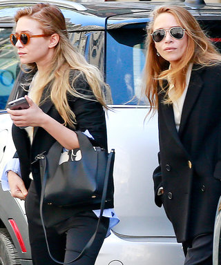 Mary-Kate and Ashley Olsen Are Total Twinsies in N.Y.C.