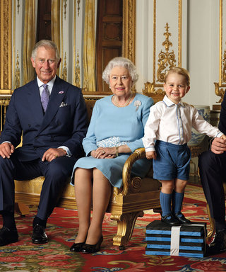 Prince George Steals the Show in the Royal Family's Latest Released Portrait