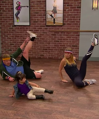 Gwyneth Paltrow Dances Toddlerography with James Corden