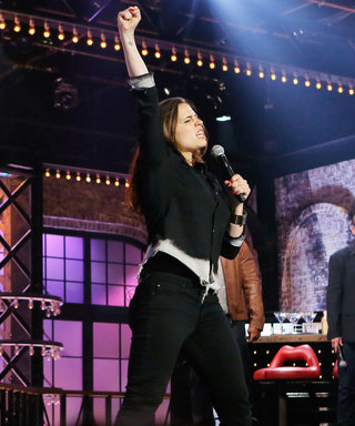Watch Agent Carter's Hayley Atwell Rock Out and Headbang on This Week's Lip Sync Battle