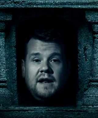 James Corden Parodies Game of Thrones's Hall of Faces with Help from the Cast