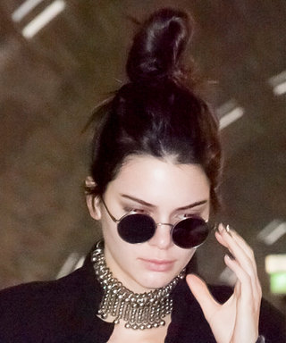 Kendall Jenner Channels Her Inner Wonder Woman in a Billowing Cape at the Airport