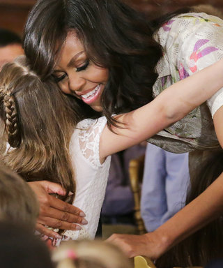 Michelle Obama Fields Cute Questions from Kids at Take Our Daughters and Sons to Work Day Event