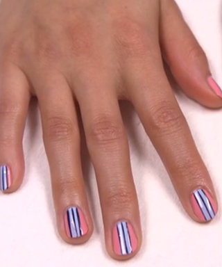 Nail Art How-To: Polished Pinstripe