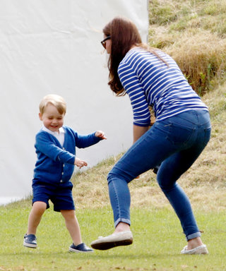 Prince Harry Discovers Prince George Walks Just Like His Grandfather in Adorable Home Video