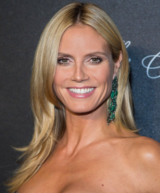 "Heidi Klum Shows Off Her Sexiest Lingerie in ""Naughty"" Instagram Photo"