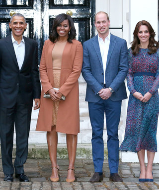 The Obamas and the Royals Look Like They're Having a Blast at Official Dinner