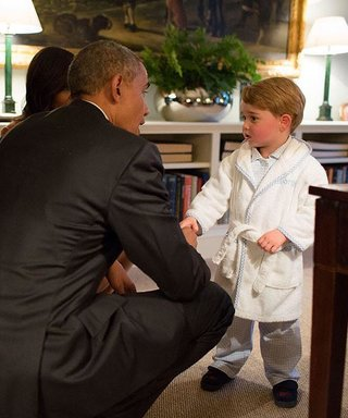 Prince George's Adorable Robe He Wore to Meet President Obama Sells Out in Minutes