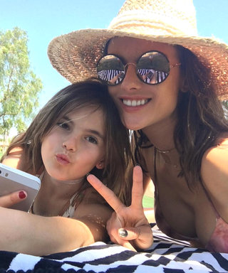 Alessandra Ambrosio Hits Up Coachella with Her Adorable Look-Alike Kids