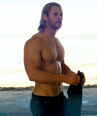 Chris Hemsworth Does an Impressive Number of Pull-Ups in a Tank Top