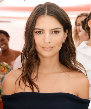Emily Ratajkowski Channels Olivia Pope in a Red Power Dress on Capitol Hill