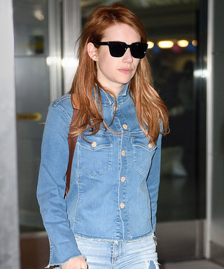 Emma Roberts Just Took the Canadian Tuxedo to the Next Level