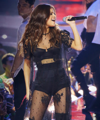 One Karl Lagerfeld-Designed Outfit Has Selena Gomez Super Pumped for Her Revival Tour
