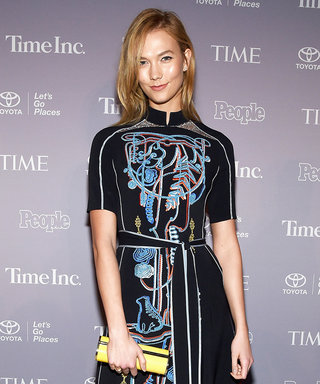 Karlie Kloss Stuns in an Artsy Dress in Washington, DC
