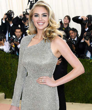 Kate Upton Is Engaged! See Her Stunning Ring at the 2016 Met Ball Gala