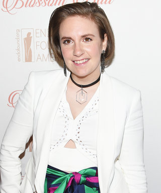 Here's What Lena Dunham Looks Like as a Bridesmaid IRL