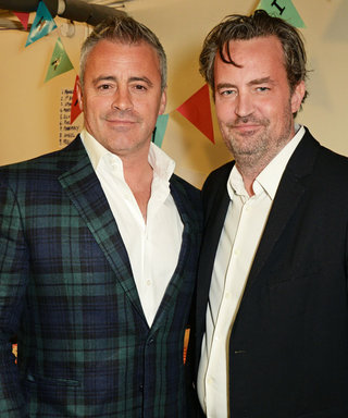 London, Baby! Matt LeBlanc and Matthew Perry Have a Friends Reunion Across the Pond