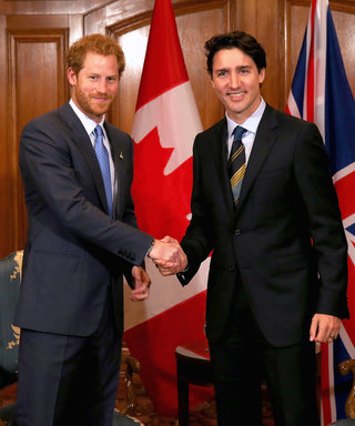 Prince Harry and Justin Trudeau Just Met for the Summit of Your Dreams
