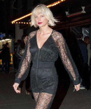 Taylor Swift Takes New York in Two Edgy Ensembles Ahead of Met Gala