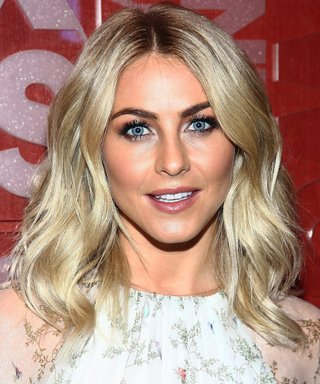 Of Course, Julianne Hough's Hair Looks Perfect at 5 a.m.