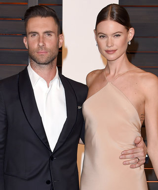 """Behati Prinsloo and Adam Levine's Baby Bumps Are Both """"Popping""""—See The Hilarious Photo"""