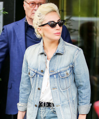 Lady Gaga Gives Denim on Denim a Rock Star Twist