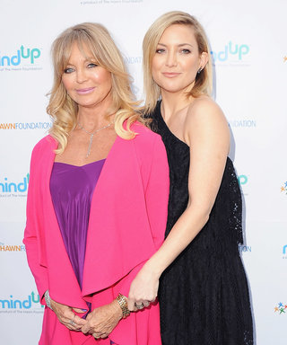 Kate Hudson and Goldie Hawn Dish on Their Laid-back Mother's Day Plans