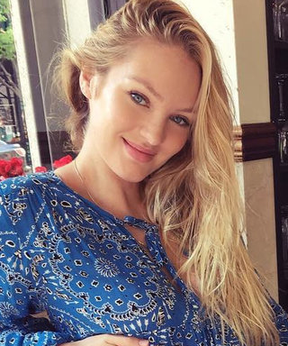 Candice Swanepoel Celebrates Mother's Day with Sweet Baby Bump Snap